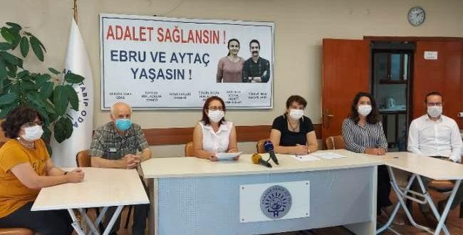 Sağlık ve Hak Örgütleri ile Hukukçular Açlık Grevinde Olan Avukatlar Ebru Timtik ve Aytaç Ünsal'ın Seslerine Kulak Verilmesini İstedi: Adil Yargılanma da Sağlık Hakkı Kadar Hayati