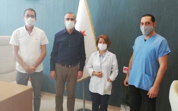Sivas Şubemiz Numune Hastanesi Başhekimini Ziyaret Etti