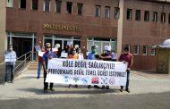 Diyarbakır Sağlık Platformu: Köle Değil Sağlıkçıyız, Performans Değil Temel Ücret İstiyoruz