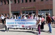 Diyarbakır Sağlık Platformu Covid-19 Nedeniyle Hayatını Kaybeden Sağlık Emekçilerini Andı