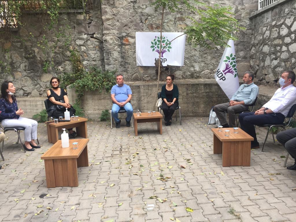 MYK Üyelerimizden HDP'ye Dayanışma Ziyareti