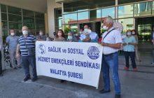 Malatya Şubemiz Sağlık Emekçilerinin Sorunlarına İlişkin Açıklama Yaptı