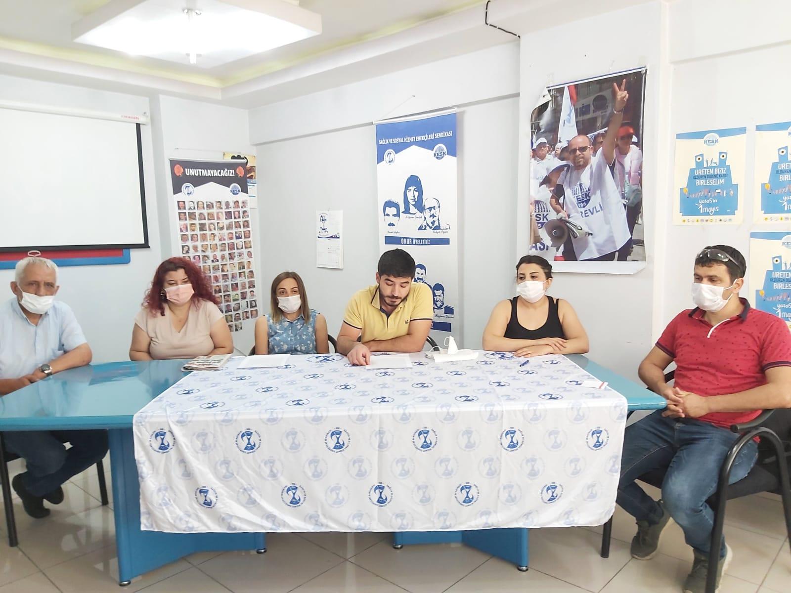 Malatya Şubemiz Sağlık Emekçilerine Yönelik Şiddeti Kınadı