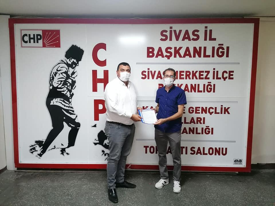 """Sivas Şubemiz """"Güvenceli iş, güvenli gelecek"""" Yasa Tasarımızı ve Topladığı İmzaları CHP'ye İletti"""