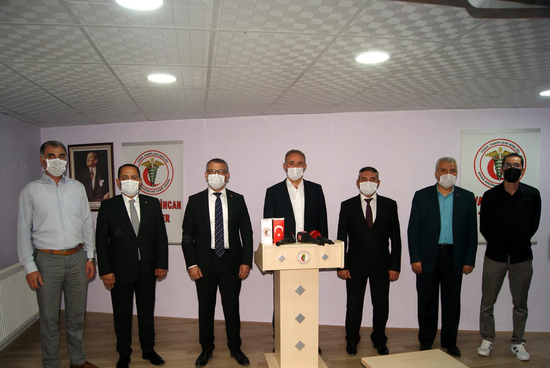 Sivas'ta Sağlıkçı Sivil Toplum Örgütleri Dayanışma Platformu Kuruldu