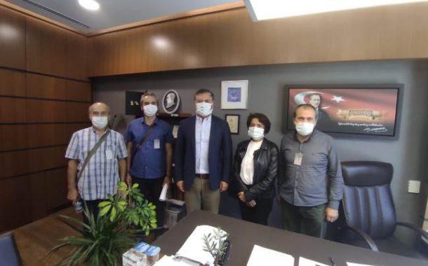 Ankara Şubemiz Kadro Talebi ve İstihdam Kanun Teklifimizi ve Topladığı İmzaları HDP ile CHP'ye İletti