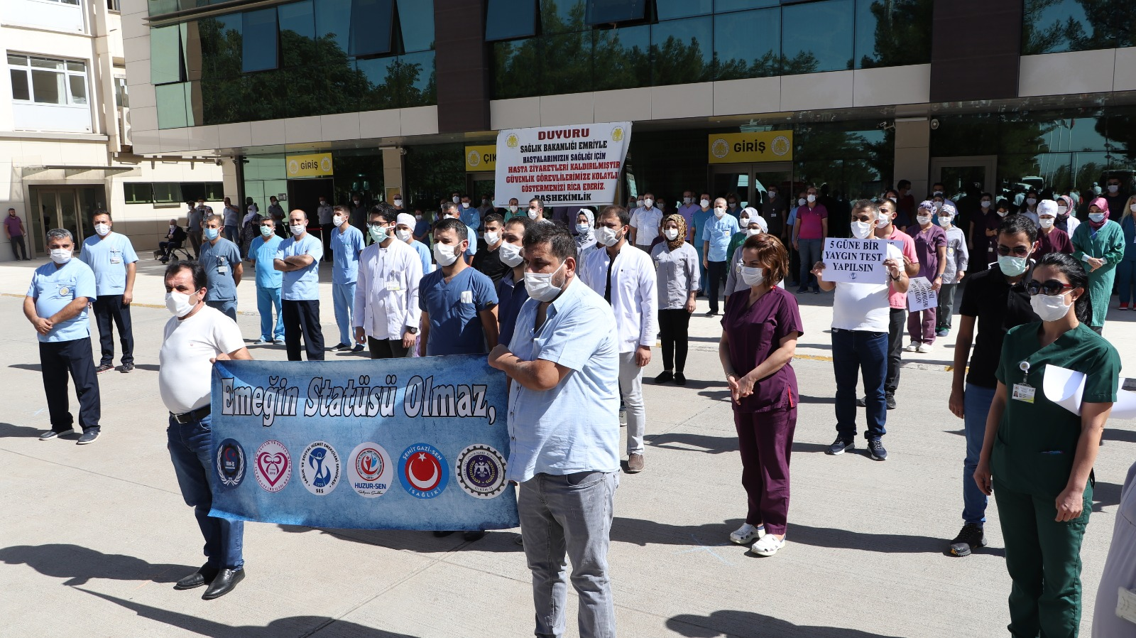 Diyarbakır: Emeğin Statüsü Olmaz