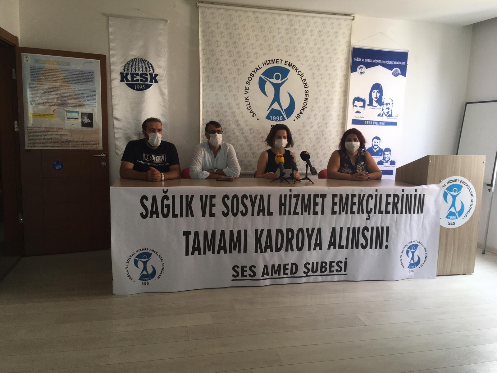 """Diyarbakır Şubemiz """"Güvenceli İş, Güvenli Gelecek"""" İmzalarını TBMM'ye Sunulması İçin Genel Merkezimize Gönderdi"""