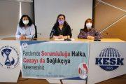 Sağlık Emekçilerinin Haklarını Yok Sayan Sağlık Bakanlığı Genelgesine Tepki Gösteren Merkez Yönetim Kurulumuz: Pandemide Sorumluluğu Halka, Cezayı da Sağlıkçıya Kesemezsiniz