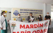 Mardin Şubemiz ve Mardin Tabip Odası: Covid-19 Hastalığı Sağlık Emekçileri İçin Acilen Meslek Hastalığı Olarak Kabul Edilmelidir