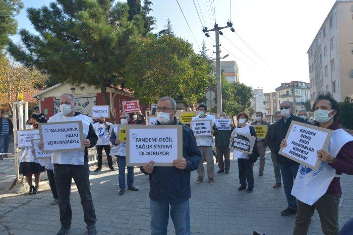 Çanakkale Şubemiz: Özlük Haklarımızı Gasp Etmeyin, Emeklerimizin Karşılığını Verin