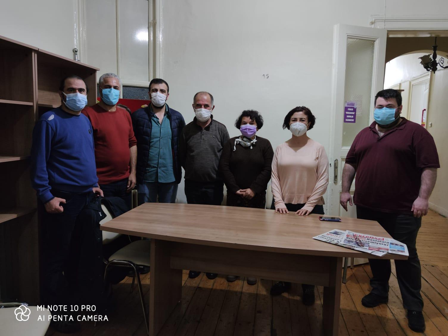 HDP Emek Komisyonu Şişli Şubemizi Ziyaret Etti