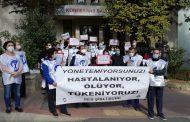 Şişli Şubemiz Şişli Hamidiye Etfal Eğitim ve Araştırma Hastanesi Başhekiminin Tutumunu Protesto Etti