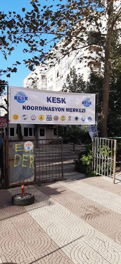 KESK Heyeti İzmir'de İncelemelerde Bulundu