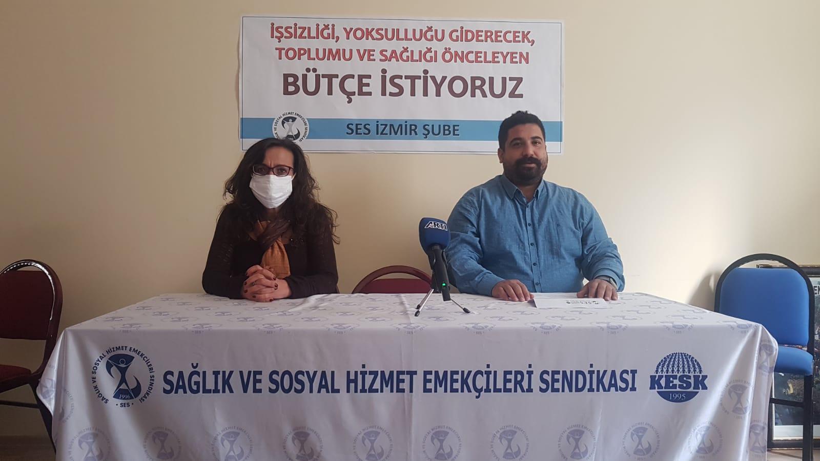 İzmir Şubemiz: Ranta Değil, Halka ve Sağlığa Bütçe