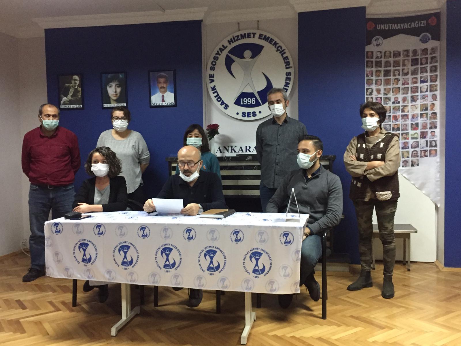 Ankara Şubemiz: KHK İhraçları İşlerine İade Edilsin, Mahmut Konuk Serbest Bırakılsın