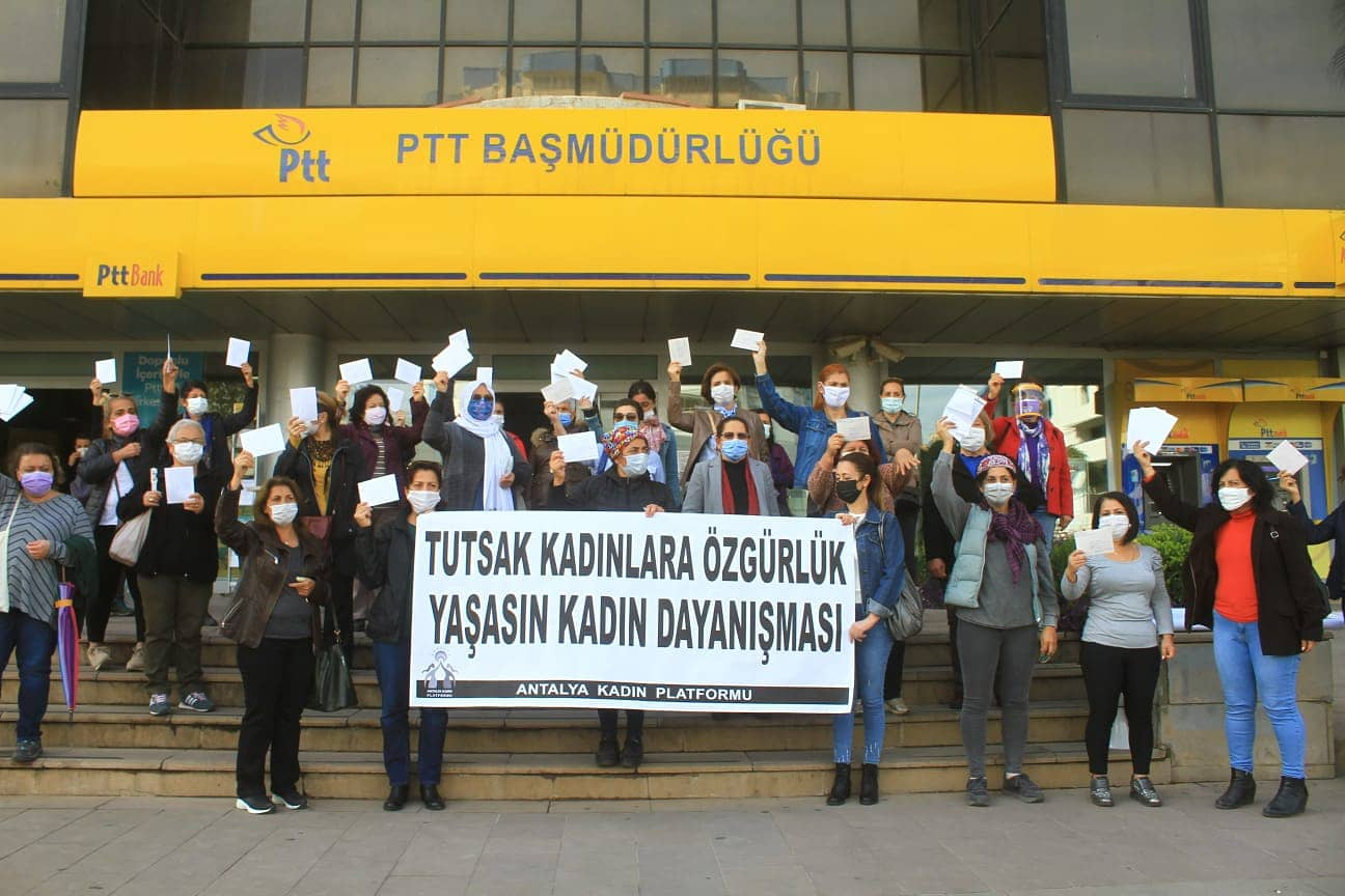 Antalya Kadın Platformu 25 Kasım Eylem-Etkinlik Programını Açıkladı
