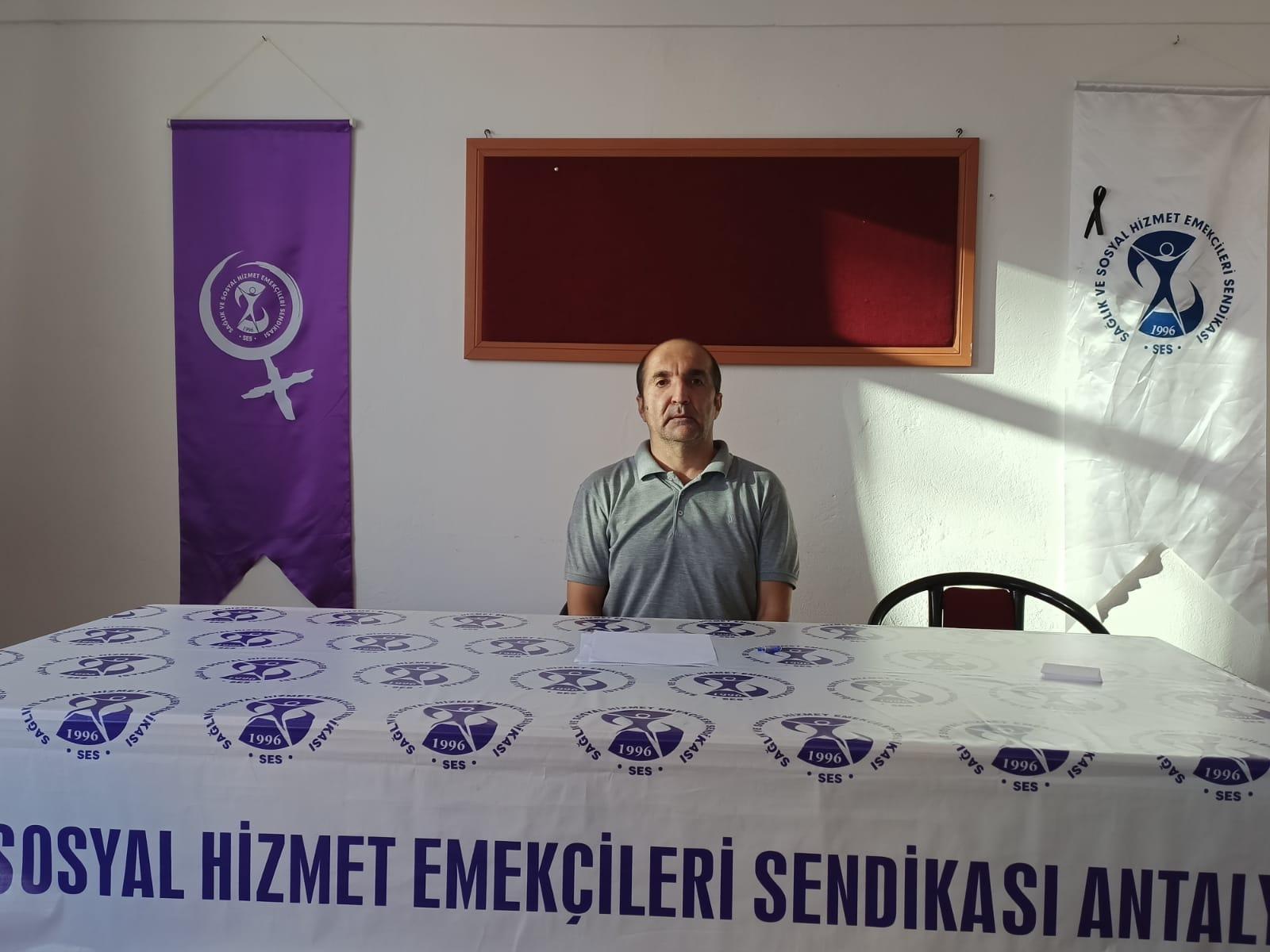 Antalya Şubemiz: Toplumu ve Sağlığı Önceleyen Bütçe İstiyoruz