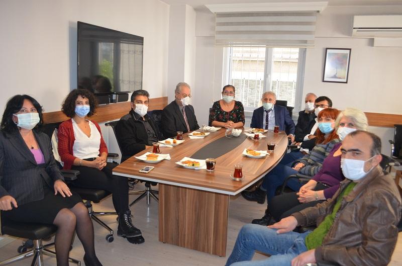 TTB Sendikamızı Ziyaret Etti