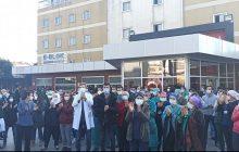 Bakırköy Şubemiz ve İstanbul Tabip Odası'ndan Sadi Konuk Hastanesi'nde Ek Ödeme Eylemi