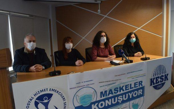 SES'imiz, Çığlığımız Duyulmadı; Taleplerimiz Görülmedi. Şimdi Sıra Maskelerimizde!
