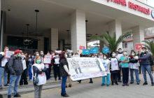 İSTANBUL; Bütün sağlık emekçilerinin temel ücretlerinin yoksulluk sınırının üzerinde olacak şekilde düzenlenmesini İSTİYORUZ !!!!