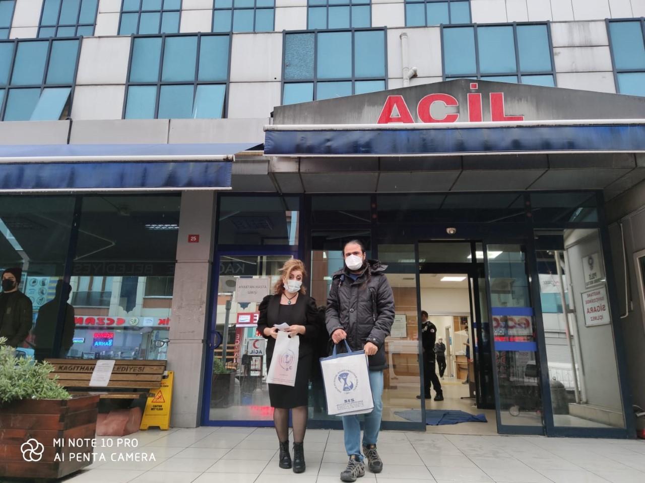 Şişli Şubemiz Kağıthane Devlet Hastanesi'ni Ziyaret Etti