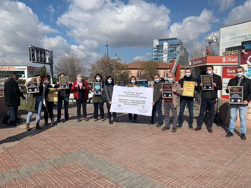 Ankara Şubemiz ile Ankara İSİG Meclisi: Dün Ostim'de, Bugün Hastanelerde İş Cinayetleri Devam Ediyor! Sömürüye ve Salgına Karşı Yaşamak ve Yaşatmak İçin Örgütlenmeye