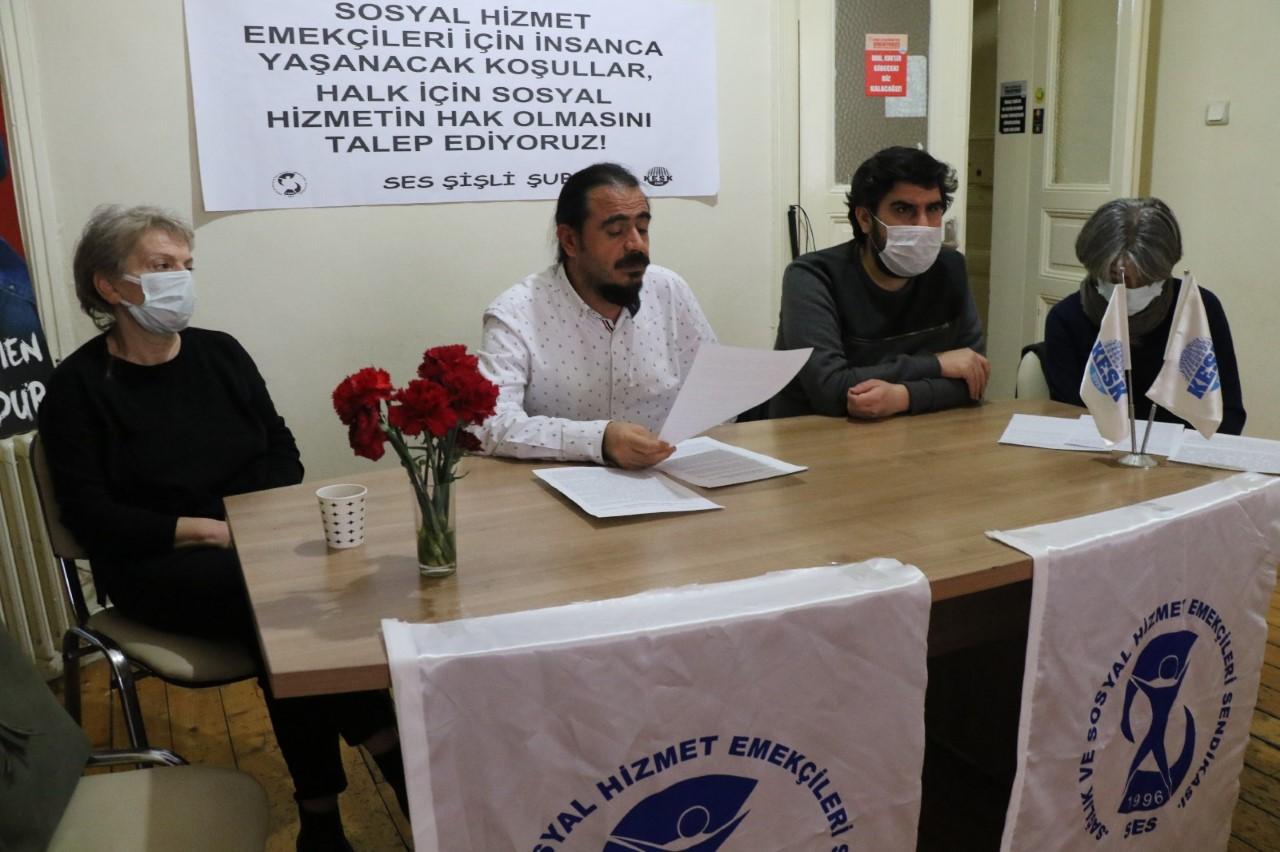 İstanbul Şişli Şubemizden Dünya Sosyal Hizmet Günü Açıklaması