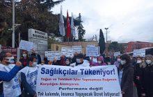 İstanbul Aksaray Şubemizden İstanbul Tıp Fakültesi Önünde Eylem