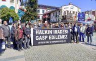 Antalya Emek ve Demokrasi Güçleri: Halkın İradesi Gasp Edilemez