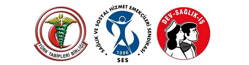 SES, TTB, Dev Sağlık-İş: Kadın Katliamlarını Durdurun, İstanbul Sözleşmesi'ni Uygulayın!
