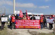 Bolu Emek ve Demokrasi Platformu Direnen TÜVTÜRK İşçilerini Ziyaret Etti