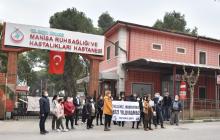 Manisa Şubemiz Ruh Sağlığı ve Hastalıkları Hastanesi'nde Çalışanlara Mobbing Uygulanmasını Protesto Etti