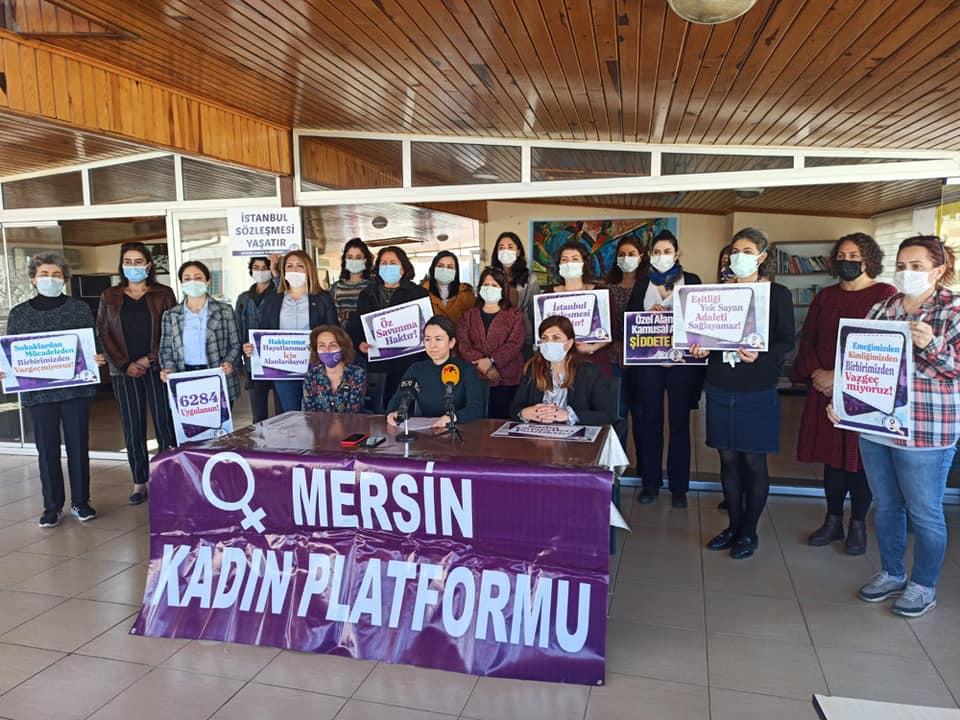 Mersin Kadın Platformu 8 Mart Eylem Takvimini Açıkladı