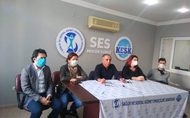 Mersin Şubemiz Dünya Sosyal Hizmet Günü'nde Taleplerini Açıkladı