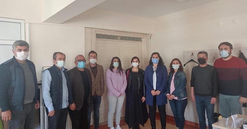 Merkez Yönetim Kurulu Üyelerimiz İl Örgütlenme Gezilerinde Sağlık ve Sosyal Hizmet Emekçileriyle Bir Araya Geldi