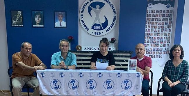 Ankara Şubemizden Kamuoyuna Açık Mektup: Yetkili Ağızlardan Yapılan Her Türlü Sağlıksız Açıklamaya Karşı Özlük, Mali, Demokratik Haklarımız ve Halkın Sağlık Hakkı İçin Mücadele Edeceğiz