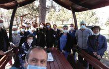 Ankara Şubemizden İbni Sina Hastanesi'nde Örgütlenme Toplantısı
