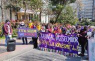Şişli Etfal Dayanışması'ndan Kadınlar: Biz Kadınlar Vazgeçmiyoruz! Ne Etfal'den, Ne İstanbul Sözleşmesi'nden