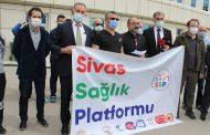 Sivas Sağlık Platformu: Sağlıkta Şiddetin Çözümünde Oyalama Değil, Gerçek Çözüm Bekliyoruz