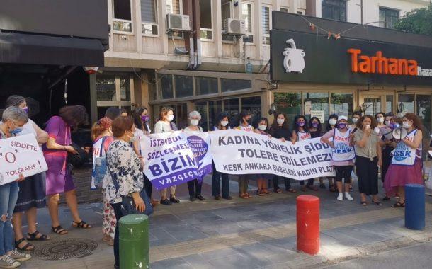 KESK'li Kadınlar İllerden Seslendi: Aile ve Sosyal Hizmetler Bakanı Derya Yanık Derhal İstifa Etmelidir!