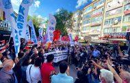 KESK Ankara Şubeler Platformu, DİSK İç Anadolu Bölge Temsilciliği, TMMOB Ankara İl Koordinasyon Kurulu, Ankara Tabip Odası, Ankara Serbest Muhasebeci ve Mali Müşavirler Odası: Direnen Filistin Halkı Kazanacak