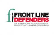 Front Line Defenders Gözaltındaki Arkadaşlarımızın Derhal Serbest Bırakılması Çağrısında Bulundu