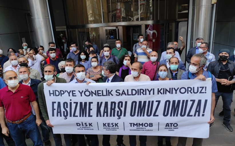 HDP'ye Yönelik Saldırıya ve Deniz Poyraz'ın Katledilmesine Karşı İllerden Haykırdık: Irkçı-Faşist Saldırganlığa Karşı Yaşamı Savunuyoruz