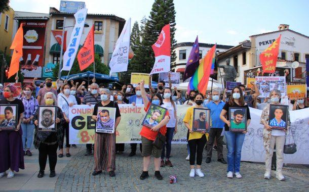 Antalya Emek ve Demokrasi Güçleri: Yaşasın Gezi Direnişimiz