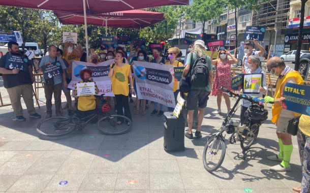 Şişli Etfal Dayanışması'ndan Bisiklet Turu ve Fotoğraf Sergisi