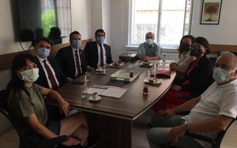 İstanbul Aile Hekimliği Derneği Sendikamızı Ziyaret Etti