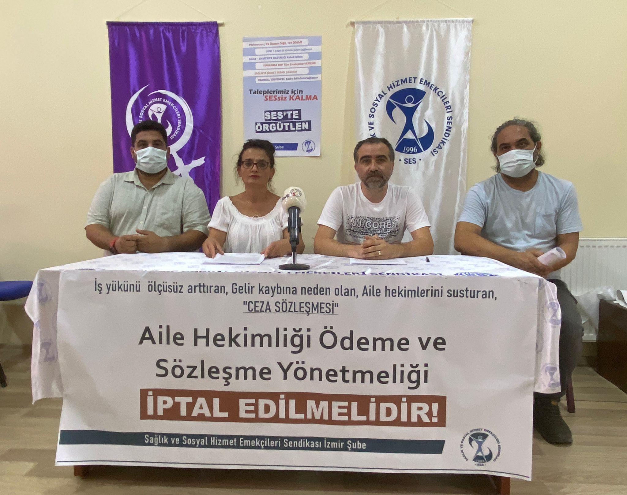 İzmir; Aile Hekimliği Ödeme ve Sözleşme Yönetmeliği İPTAL EDİLMELİDİR!