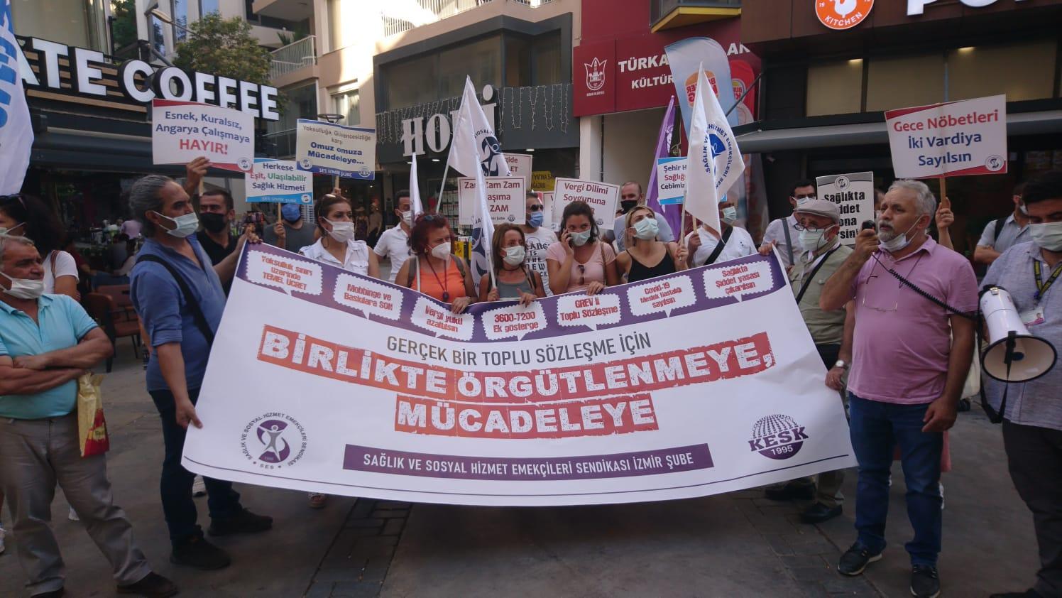 İzmir Şubemiz: Toplu İş Sözleşmesi Bir Oyun Değil, Emeğin Mücadelesi Ve Güvencesidir